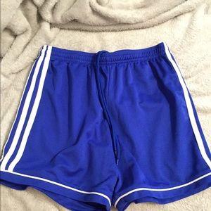 ADIDAS royal blue shorts